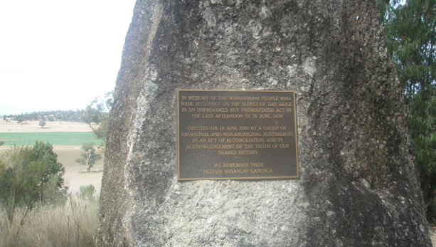 myall creek massacre The myall creek massacre of june 1838 led to the death of 28 aboriginal men,  women and children and to the trial of 11 of their white.